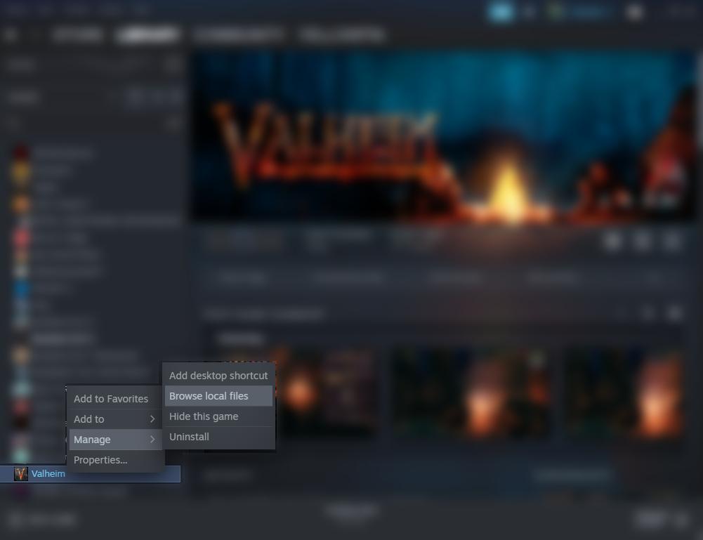 Valheim Simple Ccommands for FPS Boost