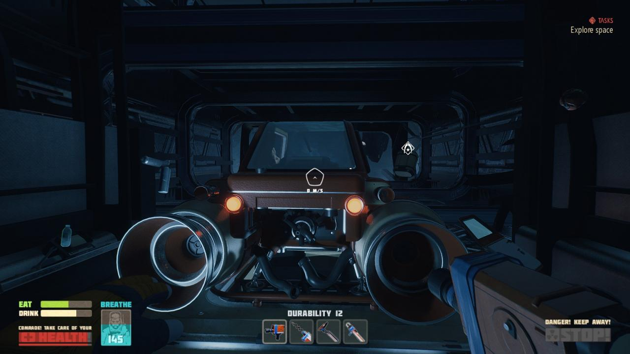 Breathedge ZAZ-I Vehicle Blueprints Guide
