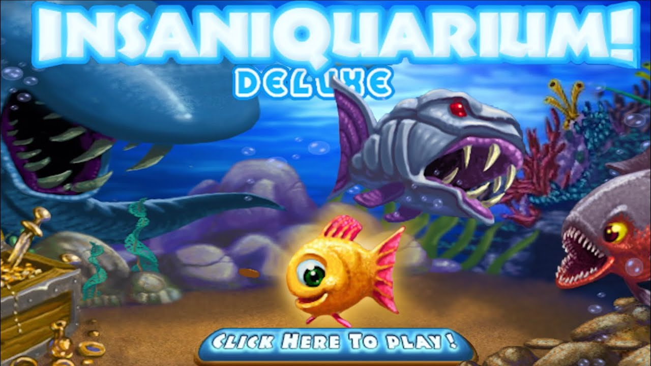 Insaniquarium! Deluxe (by Bringlife) IOS Gameplay Video (HD) - YouTube