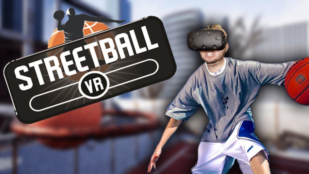 VIRTUAL REALITY BASKETBALL IN DA HOOD! | Streetball VR Gameplay (HTC Vive)  - YouTube