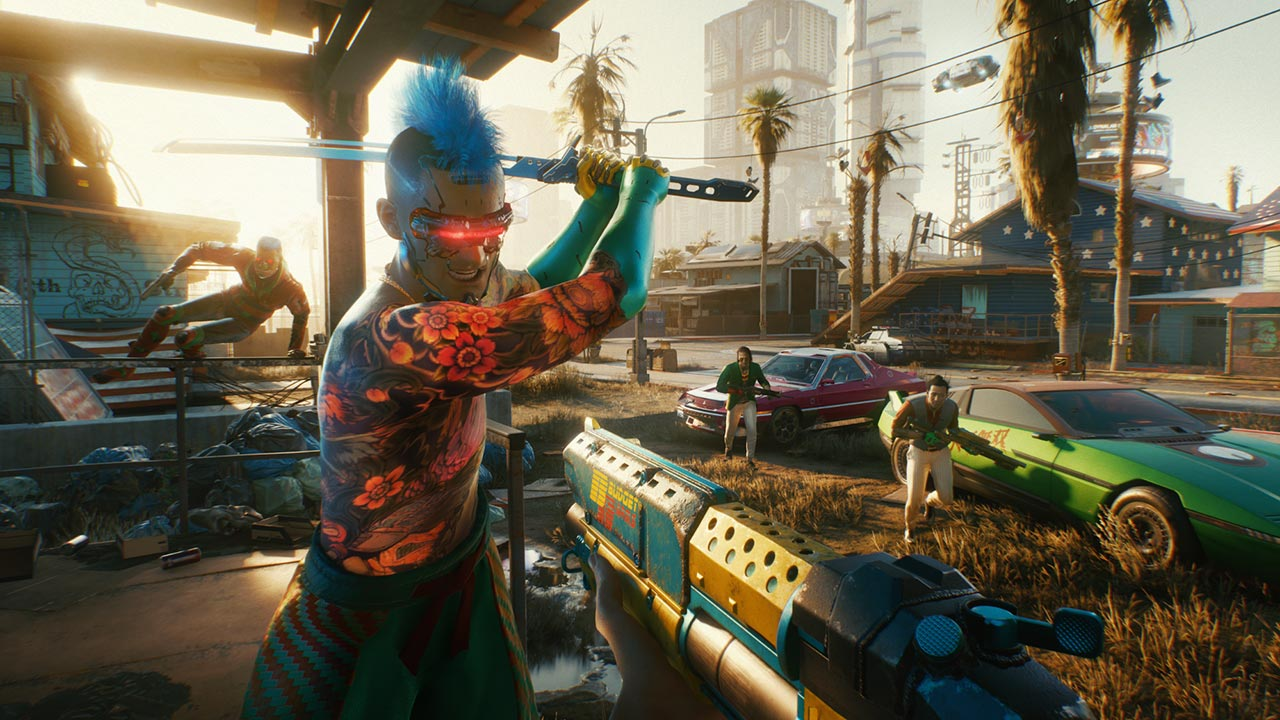 Cyberpunk 2077 — from the creators of The Witcher 3: Wild Hunt