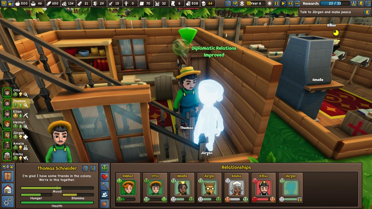 Founders' Fortune Make a Ghost Join Your Village